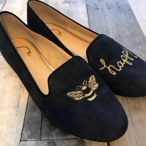 NEW C. Wonder Bee Happy Suede Loafer